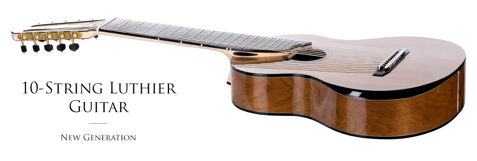 Luthier handmade 10-string classical guitar