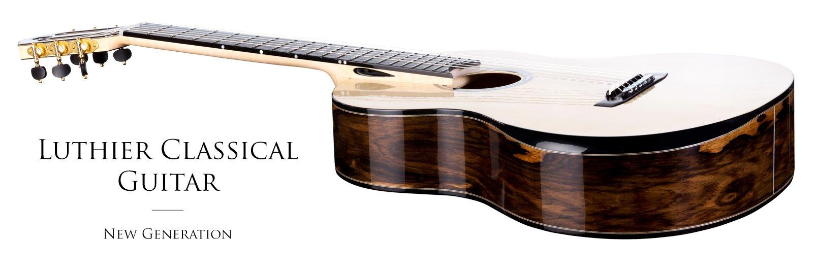 Luthier handmade classical guitar