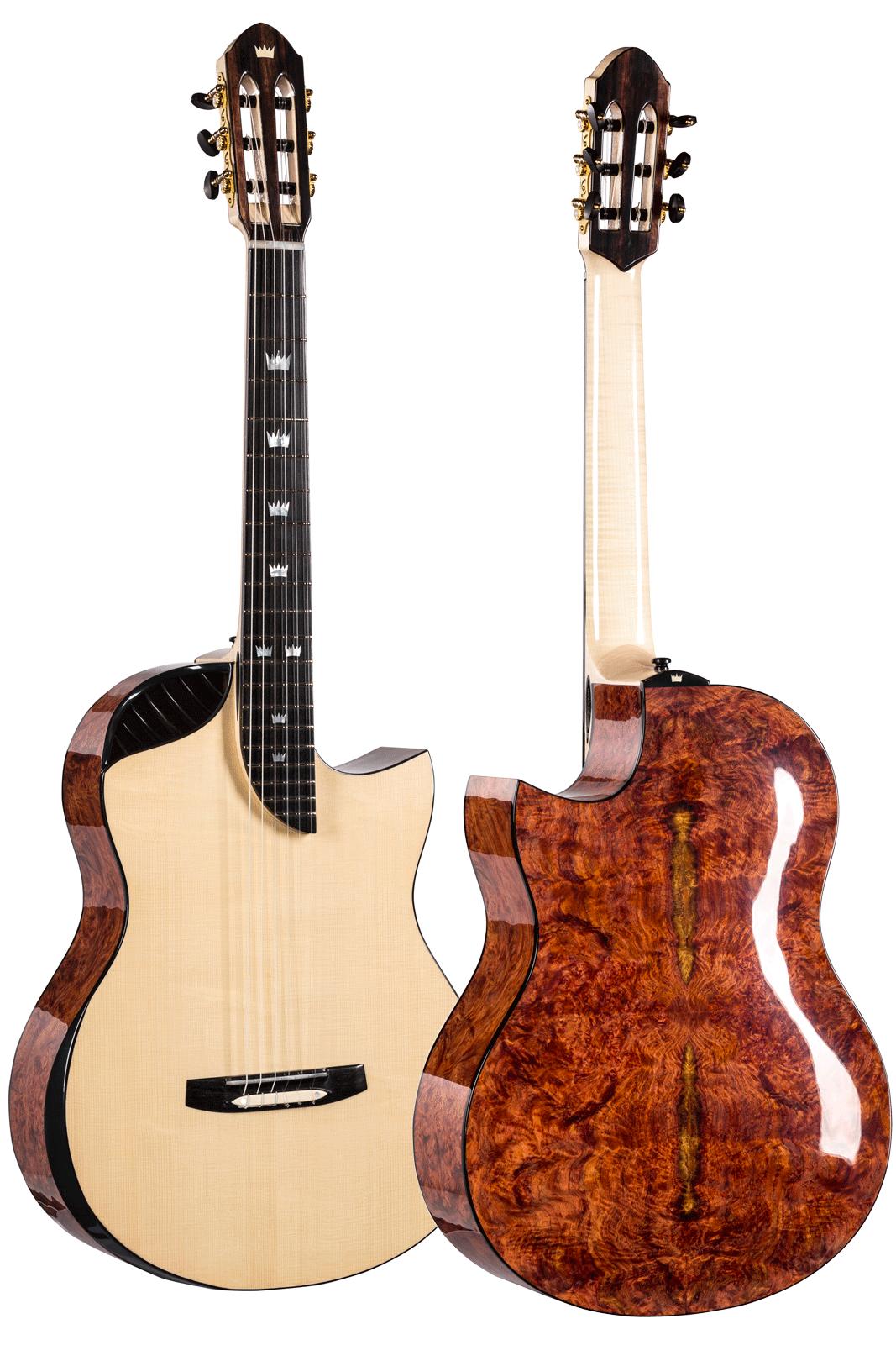 luthier 39 s nylon string jazz guitar no 205 sold rafa turkowiak. Black Bedroom Furniture Sets. Home Design Ideas
