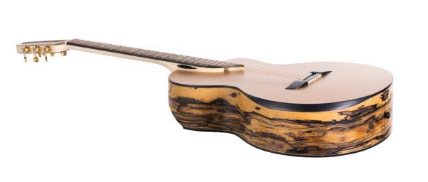 Gitara z wydrążoną szyjką