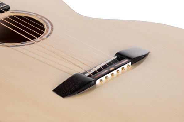 Mostek pinless bez kołków do gitary akustycznej