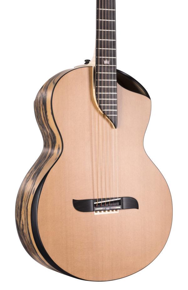 Gitara akustyczna z pełnym topem
