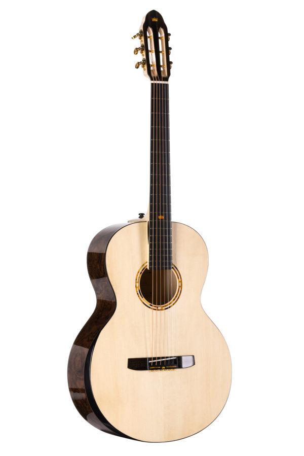 Gitara akustyczna typu OM łączenie boków na 12 progu